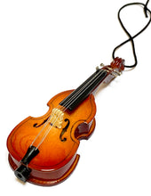 Load image into Gallery viewer, Christmas Ornaments - Strings: Violin; Cello; Bass; Harp; Guitars or Miniatures