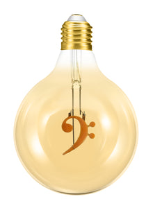 Bass Clef 4W Dimmable Globe LED Bulb ®