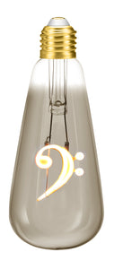 Bass Clef 4W Dimmable LED Bulb ®