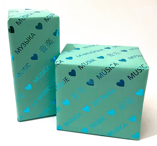 'Love Music' Gift Wrap