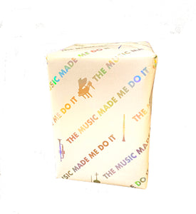 'The music made me do it' ™ Gift Wrap
