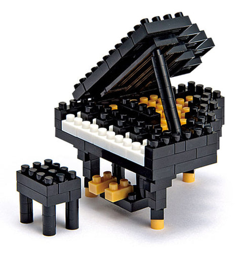 Nanoblock Grand Piano NBC_017 music and musical instruments series