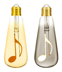 Quaver Music Note 4W Dimmable LED Bulb ®