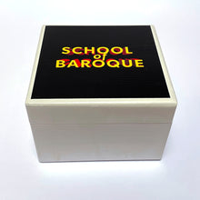 Load image into Gallery viewer, 'School of Baroque' ® Wooden Box - available in Small or Medium