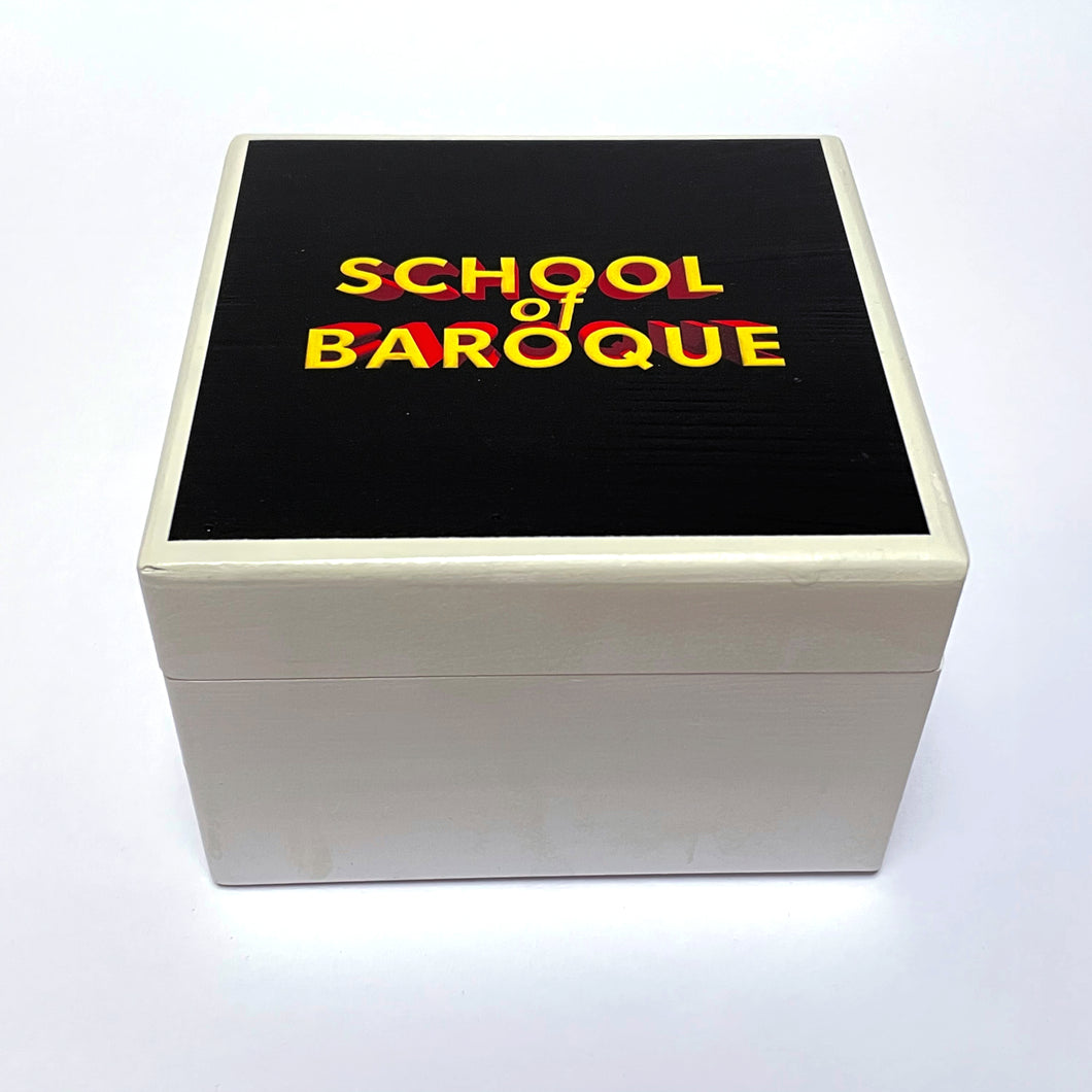 'School of Baroque' ® Wooden Box - available in Small or Medium