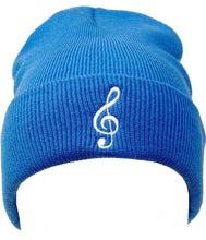 Load image into Gallery viewer, Treble Clef Beanie