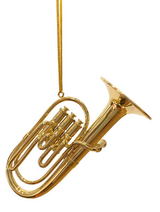 Christmas Ornaments - Brass Instruments: Trombone; Trumpet; French Horn, Baritone Horn, Tuba or Cornet