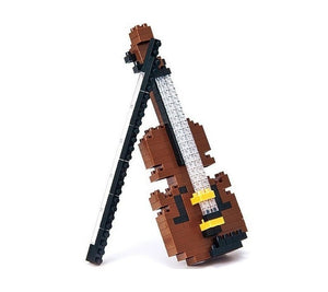 Nanoblock Violin - Musical Instruments Series