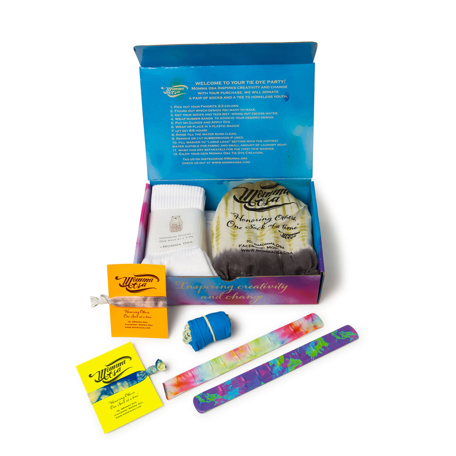 CAMO COLLECTION                                  Tie Dye Activity Kit