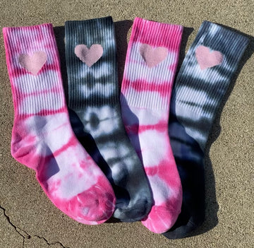 Limitless Love Tie Dye Sock BUNDLE - SUNLIGHT ACTIVATED