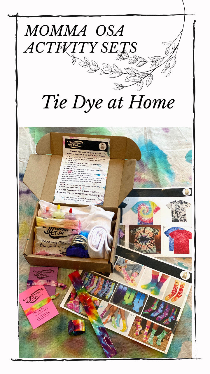 Custom Color Tie Dye Activity Kit
