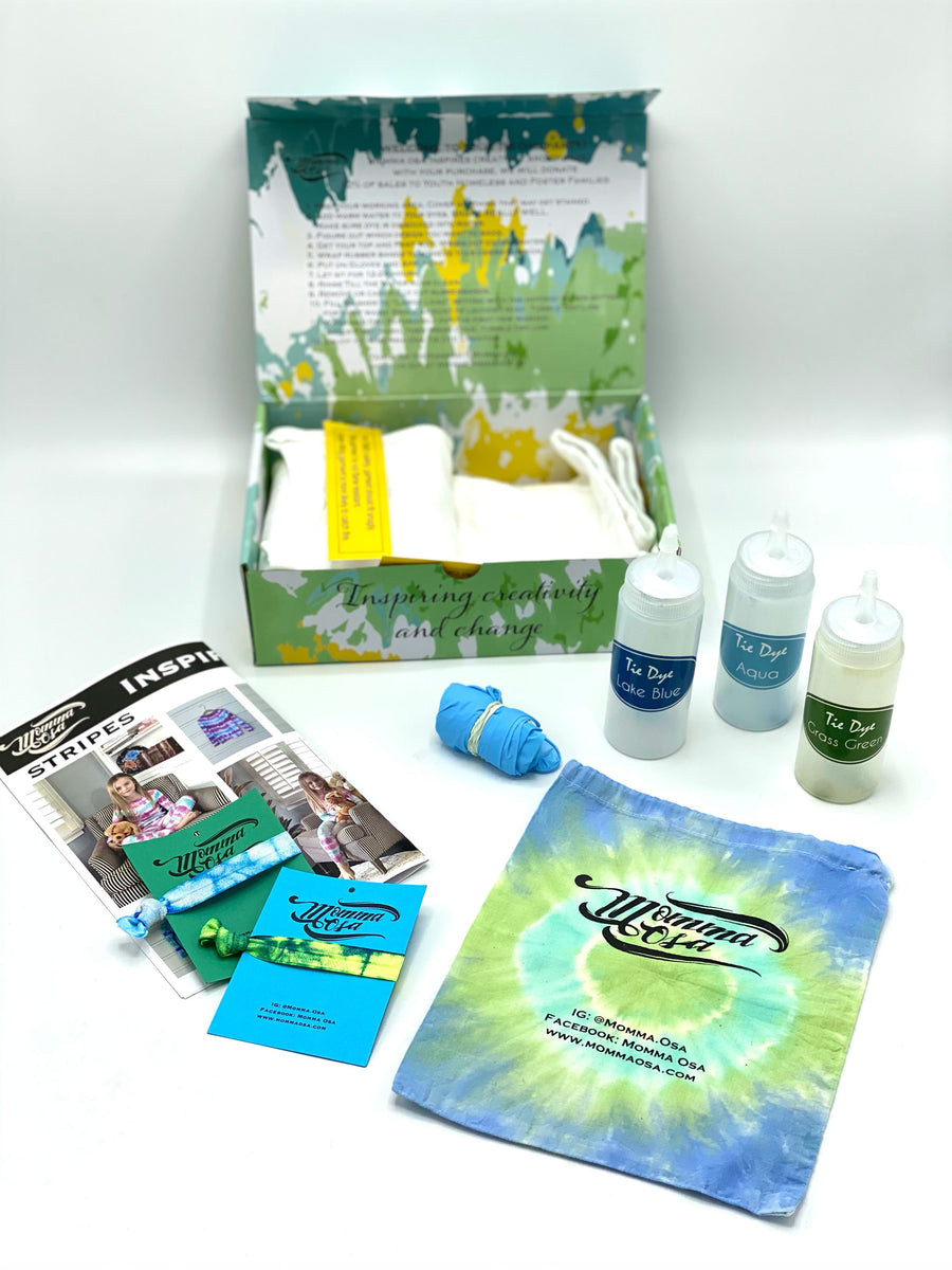 Victorious Collection - 2 PC Pajama- Tie Dye Activity Kit