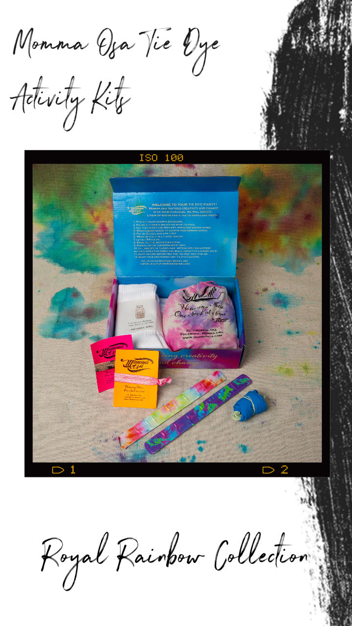 COTTON CANDY COLLECTION                  Tie Dye Activity Kit