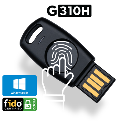 TrustKey G310H Security Key (Biometric) with Windows Hello
