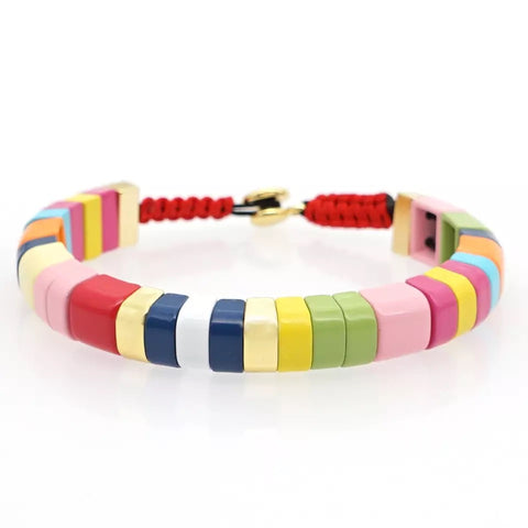 MULTICOLOURED  FRIENDSHIP BRACELET