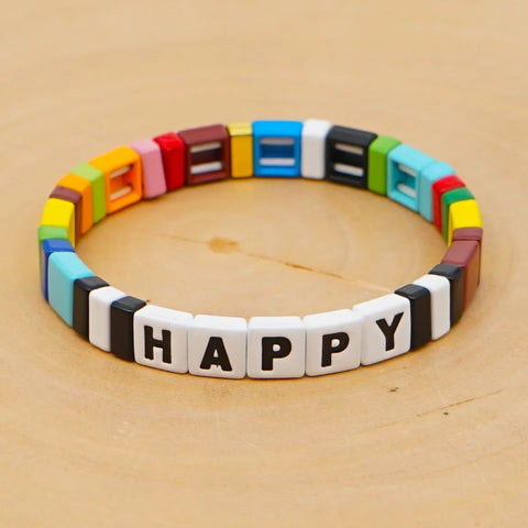 HAPPY TILE BRACELET