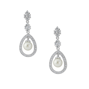 Simply Divine Earrings Silver