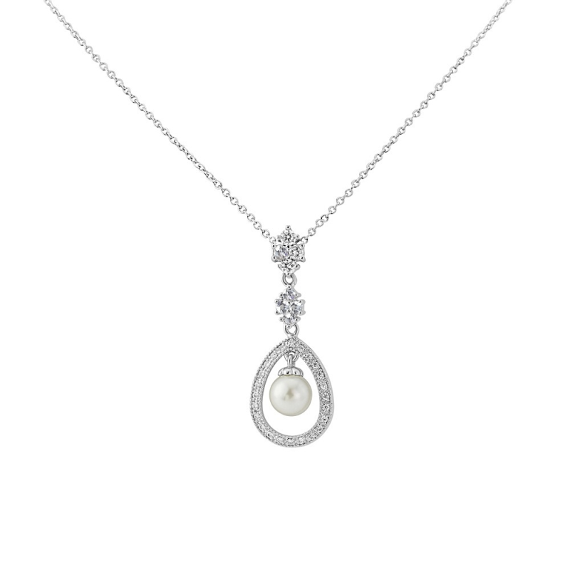 Simply Divine Necklace Silver