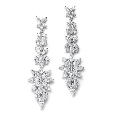 Marquis Cluster Sparkle Earring