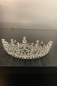 Tiara Petite Gold with Silver Crystals