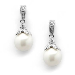 Vintage Classic Pearl Earring
