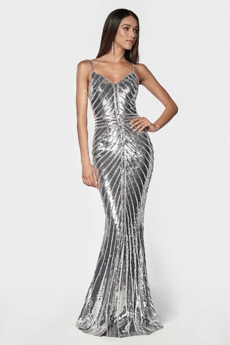 Cinderella Sparkle silver dress