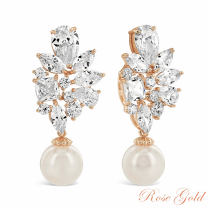 Majestic Earrings Rose Gold