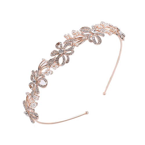 Chic Crystal Treasure Headband RG