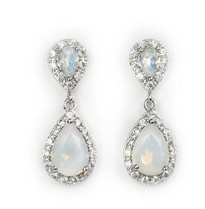 Castle Hill Drop Earrings Silver