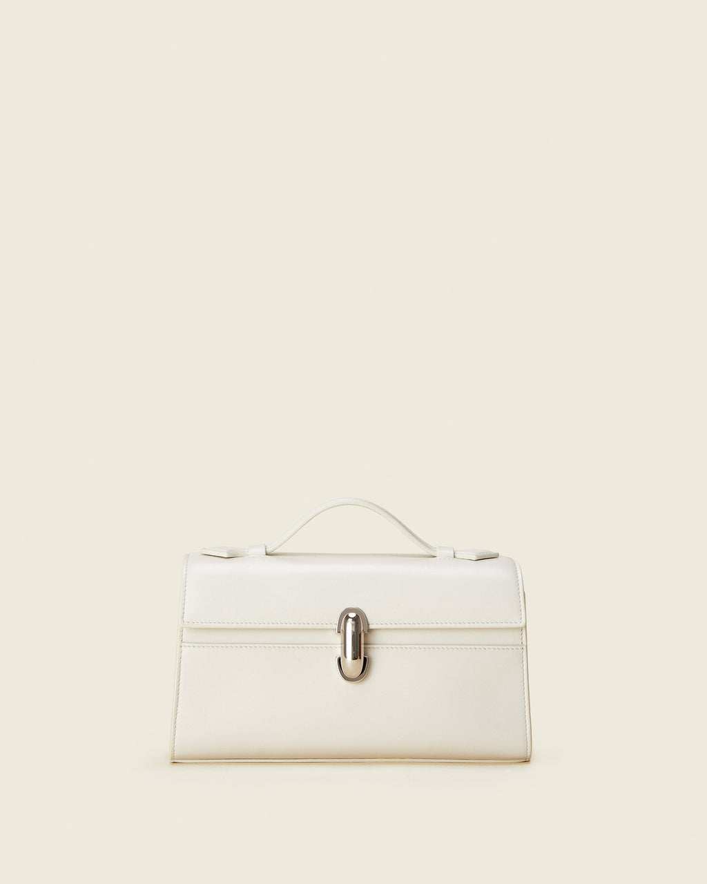 Symmetry Pochette in Ivory Leather