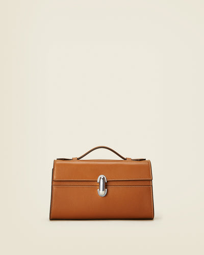 Symmetry Pochette in Saddle Leather