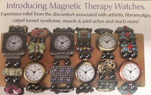 12 Magnetic bracelet watches
