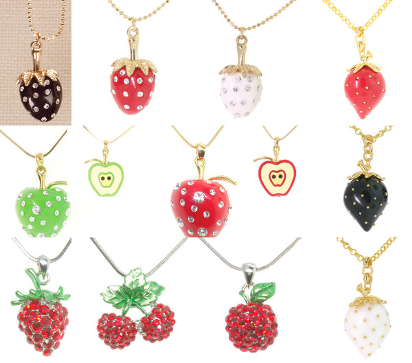12 Fruit Necklaces
