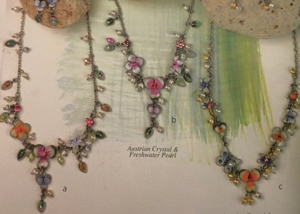 Flower necklace assortment