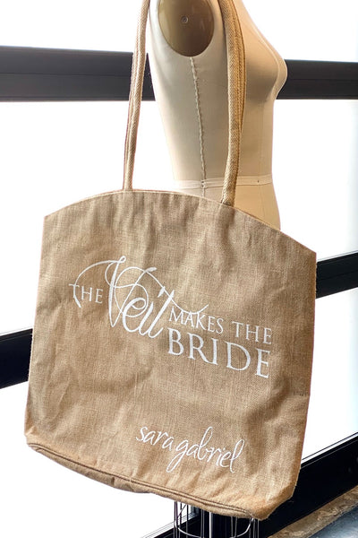 The Veil Makes The Bride tote bag