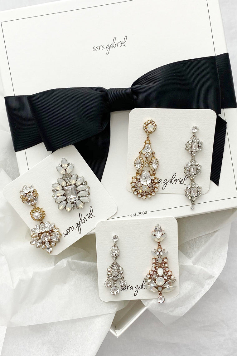 Earrings Try-On Box: Chandelier Favorites!