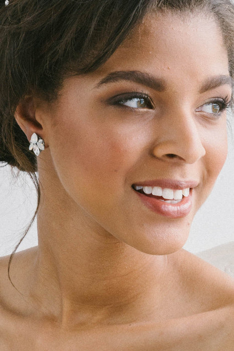 Mini earring collection from Sara Gabriel | Brides and Bridesmaids