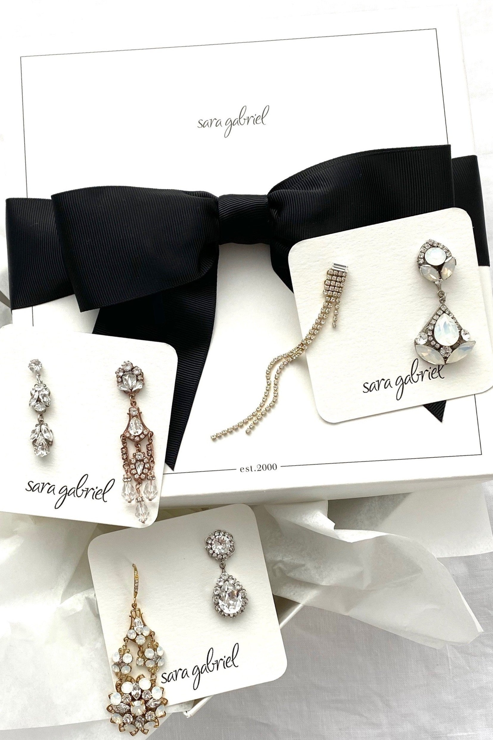 Earrings Try-On Box: Sparkle Favorites