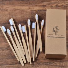 Load image into Gallery viewer, Eco Friendly Wooden Tooth Brushes