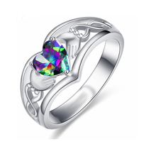 Load image into Gallery viewer, Purple Heart Ring