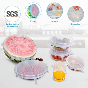 Reusable Stretch Lids