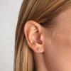 MODERN PAVE  Large Stud Earrings in Gold