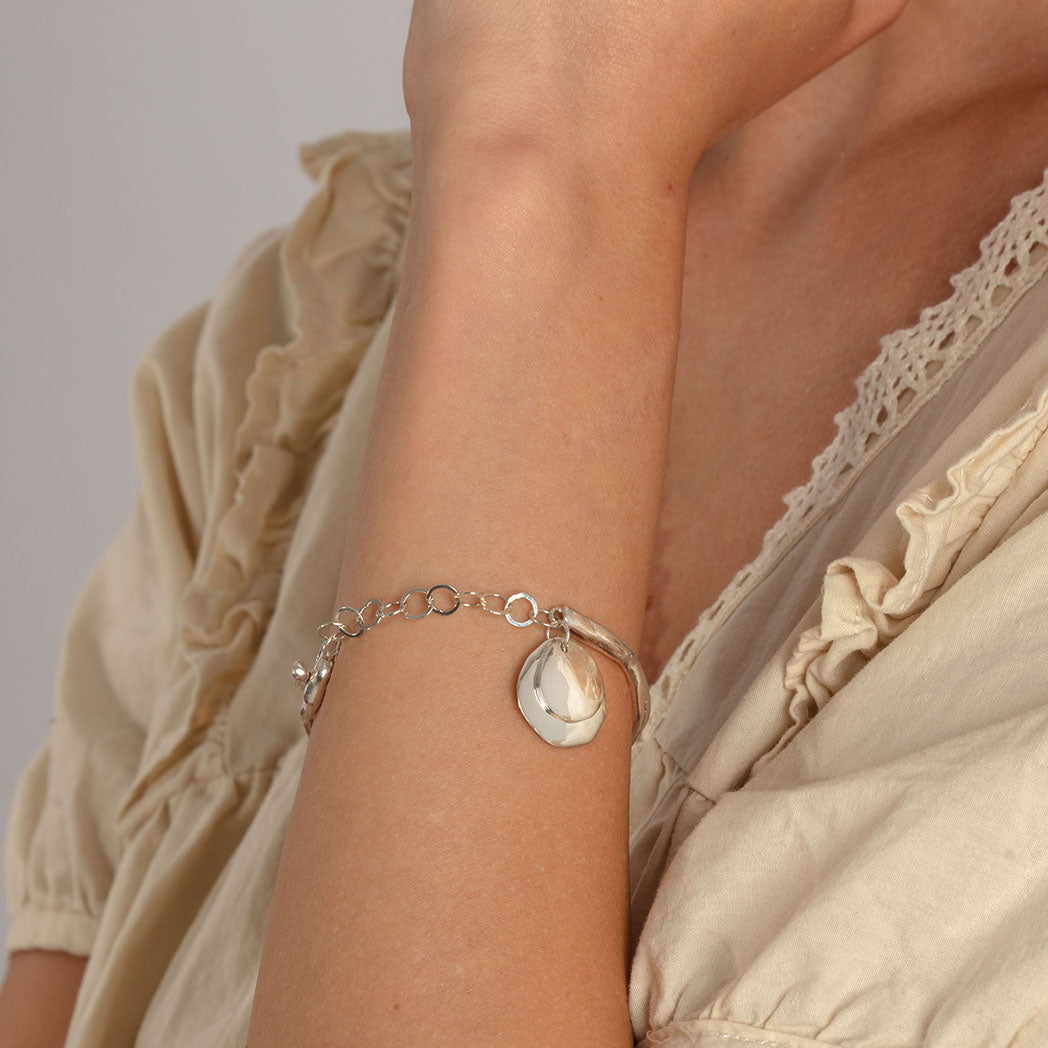 XILITLA Bangle in Silver
