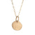 XILITLA Light Necklace in 9ct Gold