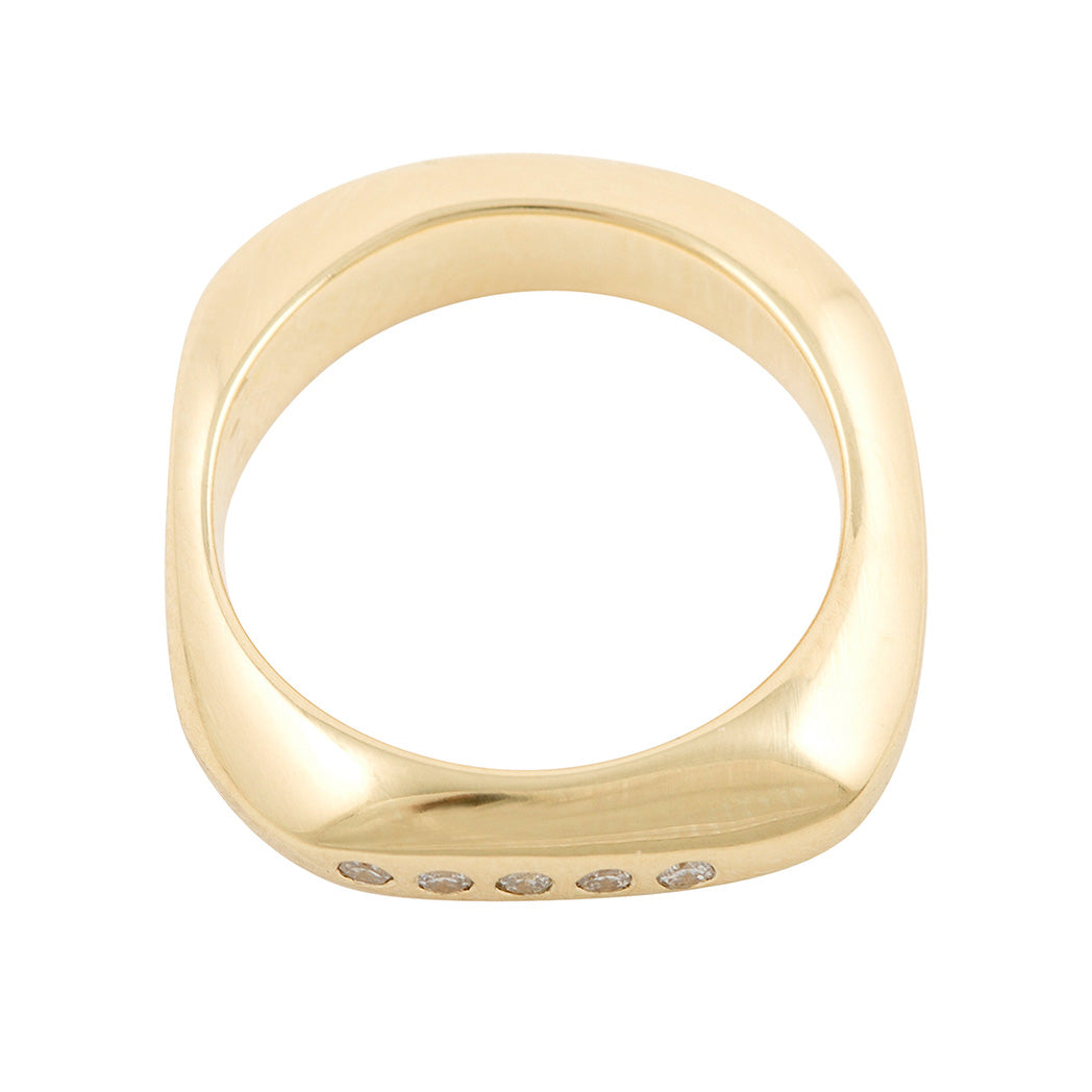 CELEBRATION RINGS Birth Ring in 18ct Yellow Gold
