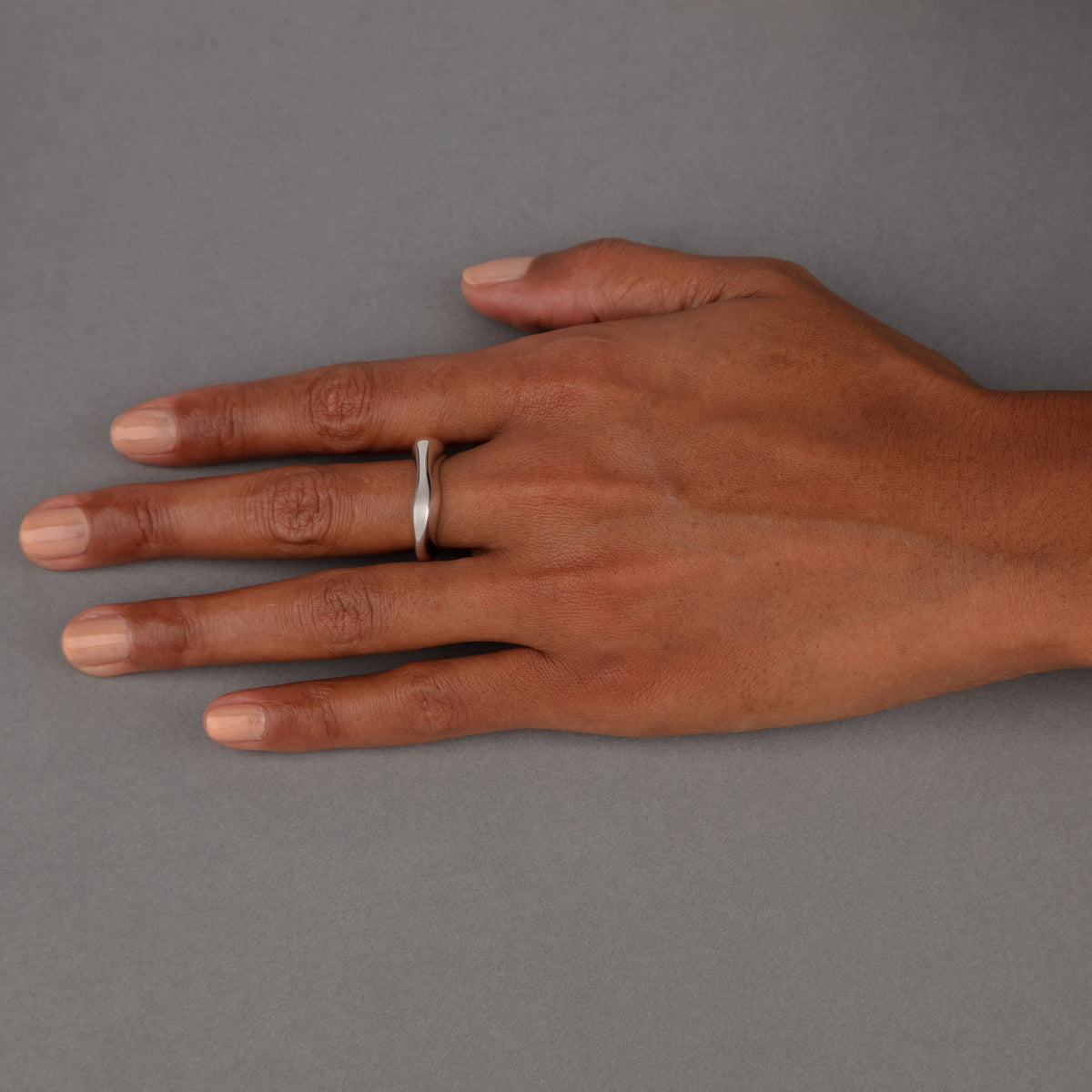 CELEBRATION RINGS Mountain Ring in Silver