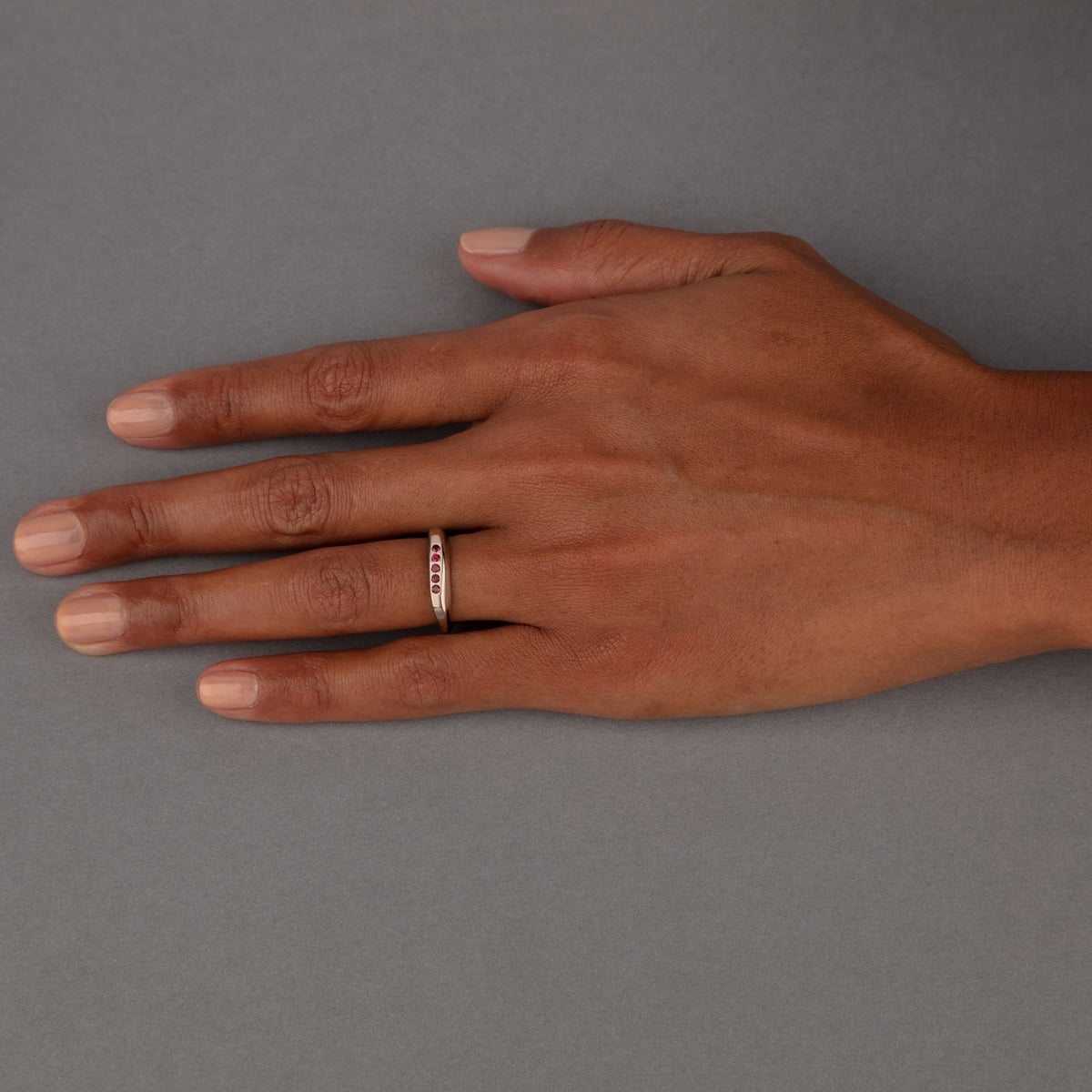 CELEBRATION RINGS Birth Ring in 18ct White Gold