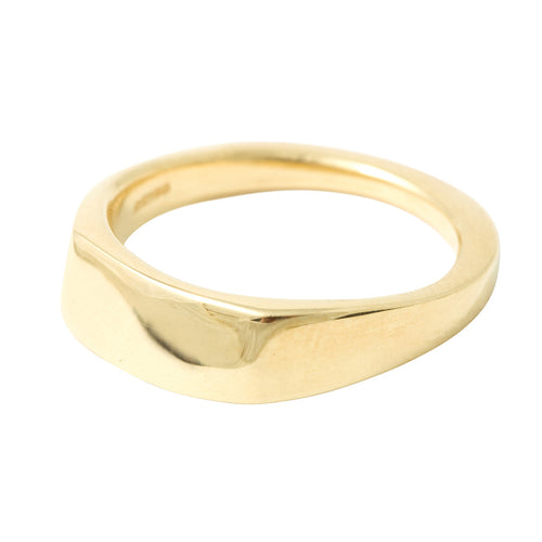 BRIDAL Commitment Ring in Gold & Platinum