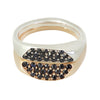MEN Special Ring in Silver & 9ct or 18ct Yellow Gold
