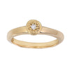 BRIDAL MODERN PAVE Small Ring in Gold
